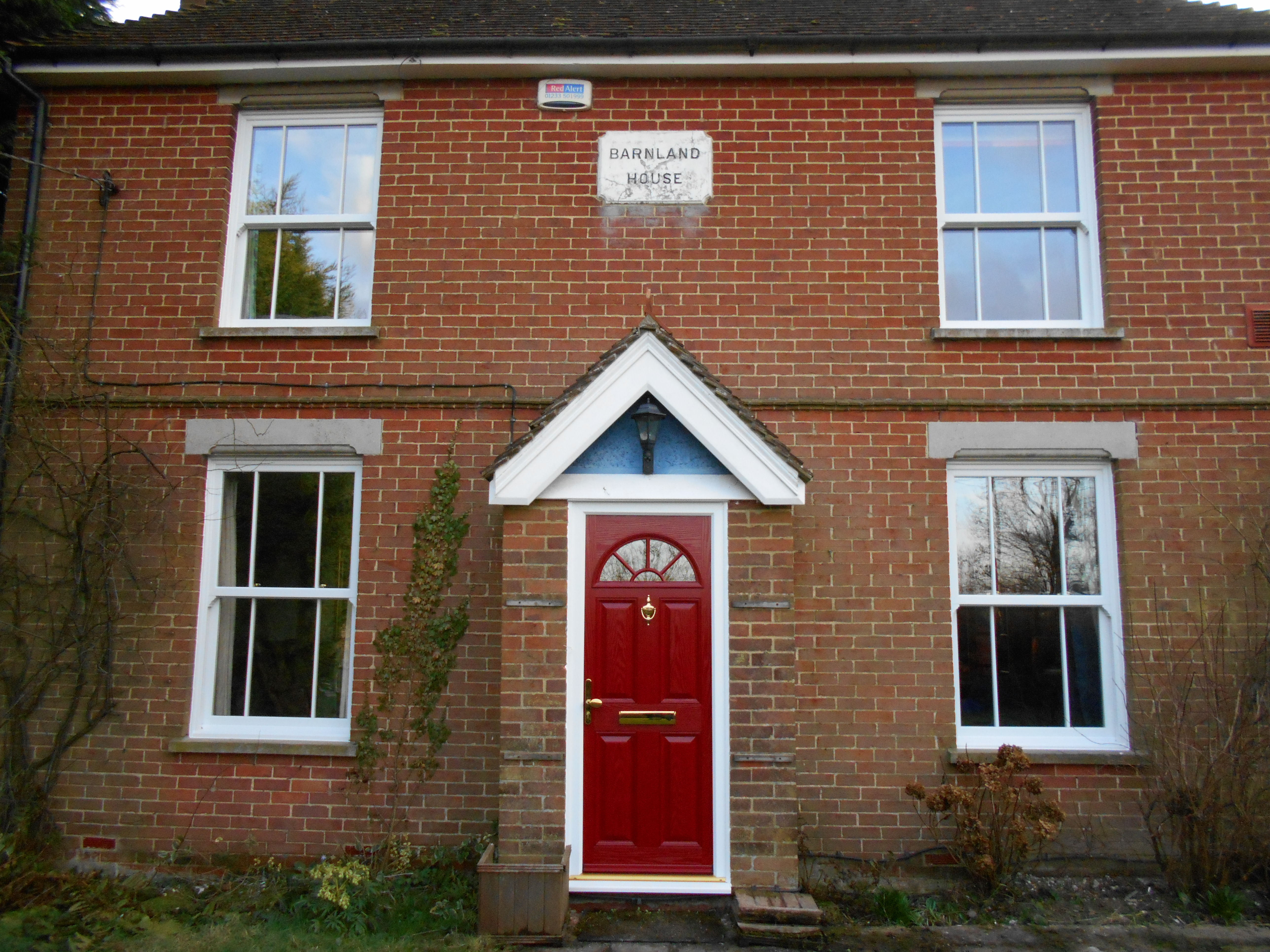 Amusing red composite front door ideas exterior ideas 3d for Exterior back door with window