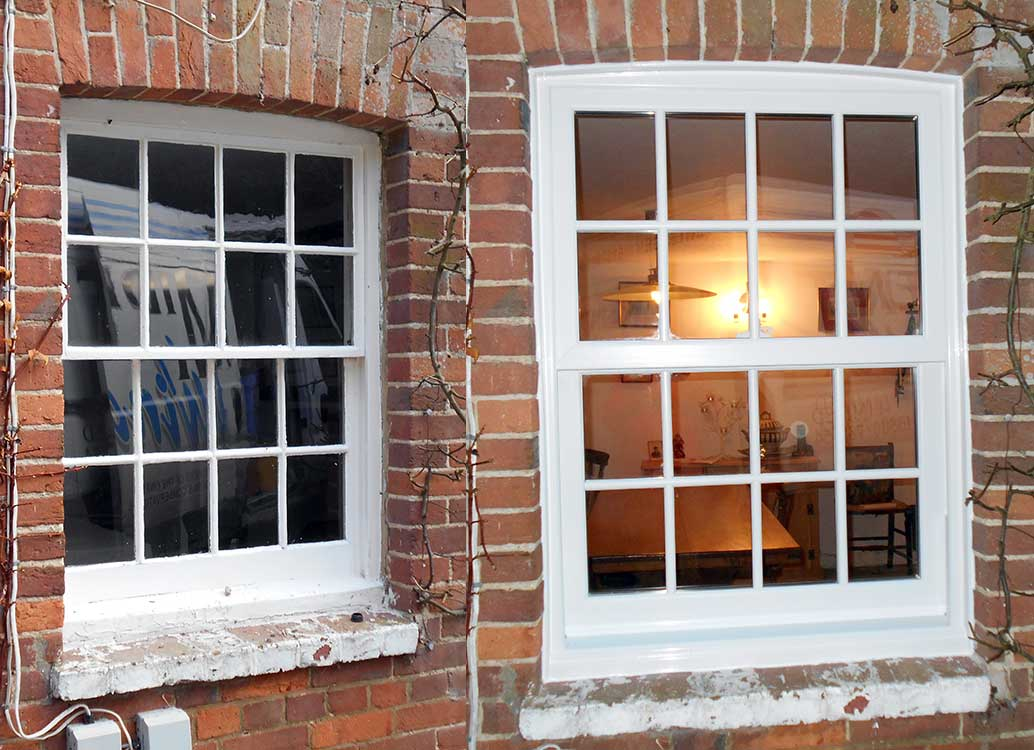 Vertical Sliding Windows : Window sash july