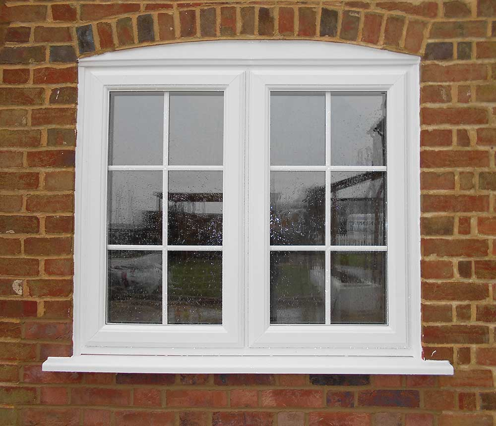 Casement windows perfect casement jeldwen windows u doors for Replacement upvc windows
