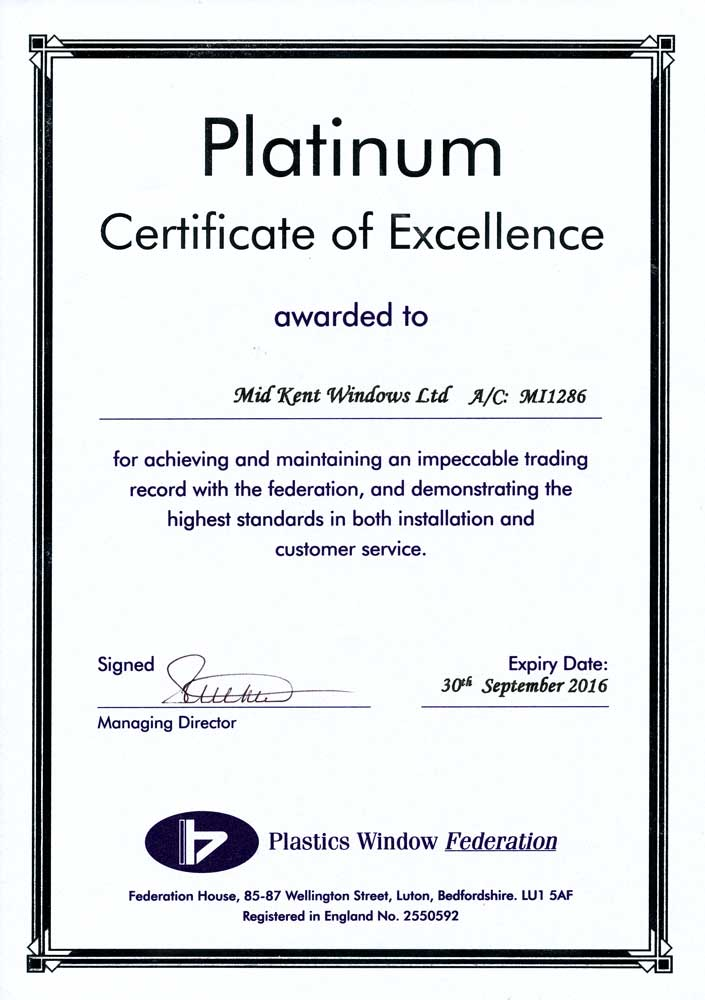 Local Authority Building Control Certificate
